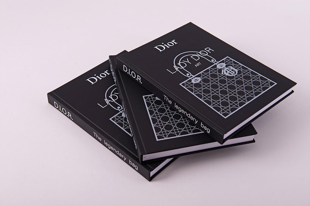 Блокнот чёрный Dior Black Mat