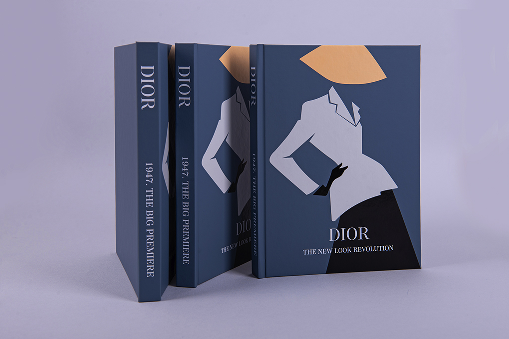 Красивый блокнот Dior Blue
