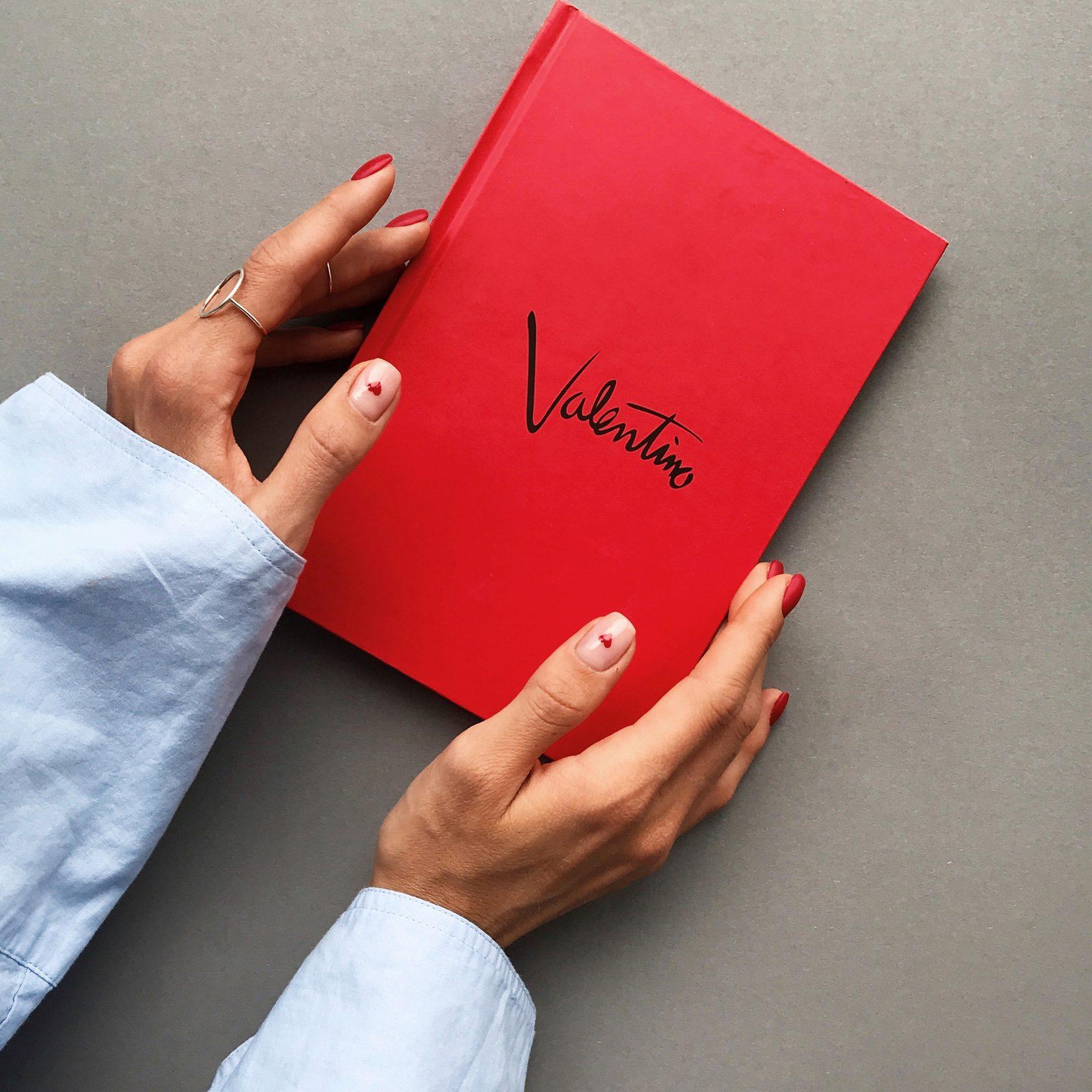 Блокнот красный Valentino Red