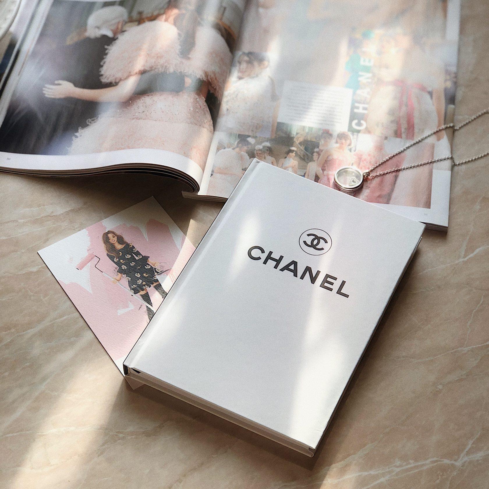 Ежедневник белый Chanel White