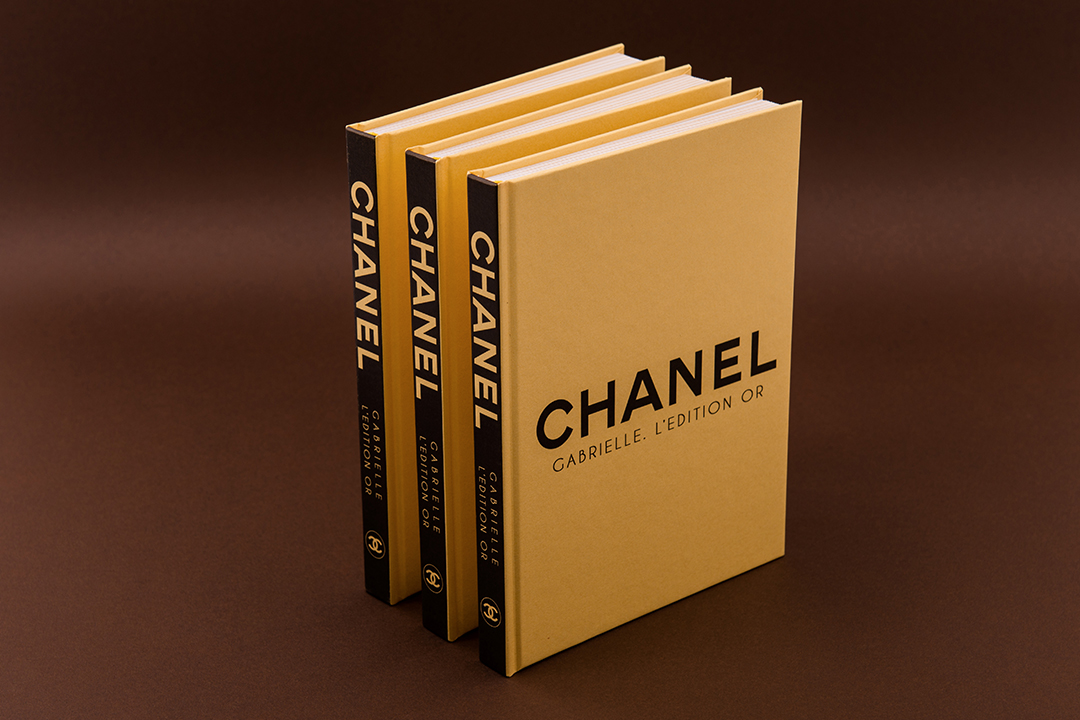Модный блокнот Chanel Gold