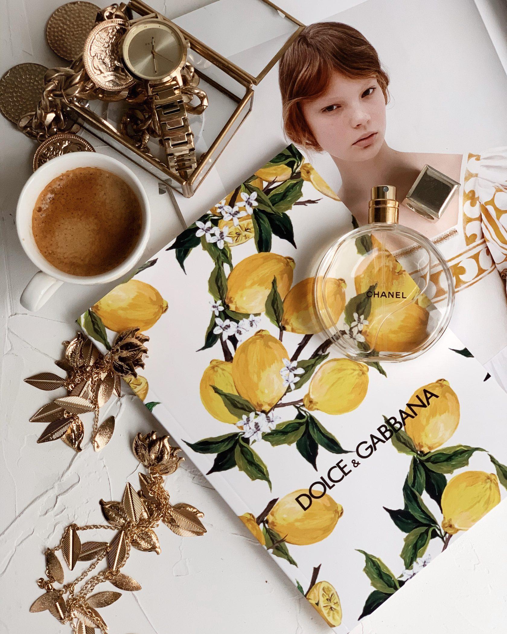 Красивый блокнот Dolce Lemon