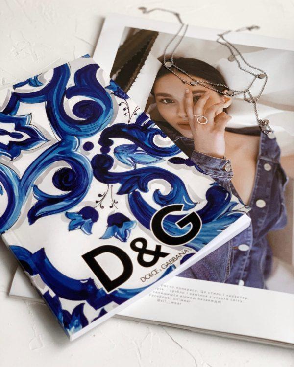 Модный блокнот Dolce Blue фото